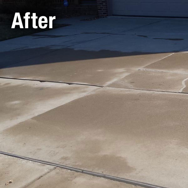 Akron/Canton Concrete Driveway Leveling - After