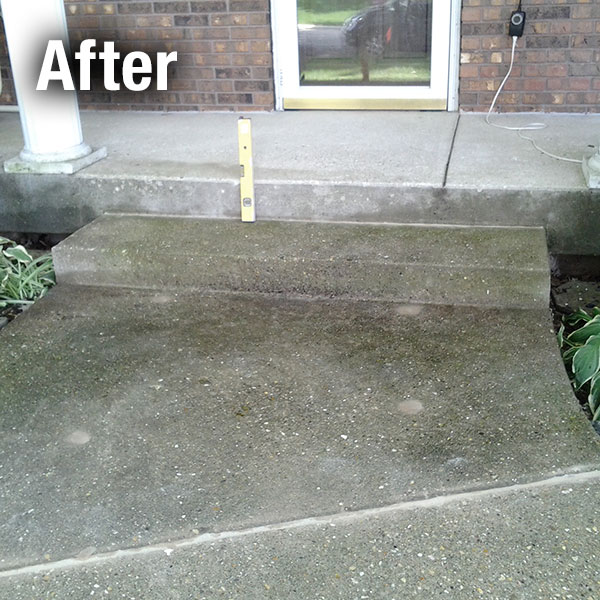 Akron/Canton Concrete Step Repair - After