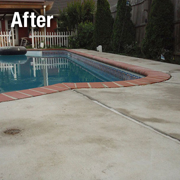 Akron/Canton, Concrete Pool Deck Leveling - After