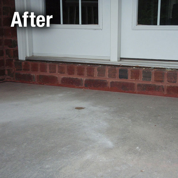 Akron/Canton Concrete Porch Leveling - After