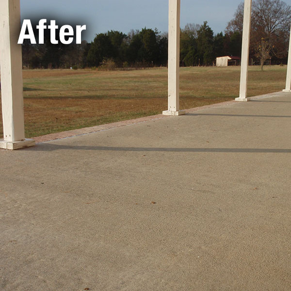 Akron/Canton​ Concrete Patio Leveling - After